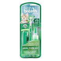 Fresh Breath by TropiClean Oral Care Kit for Cats I021375