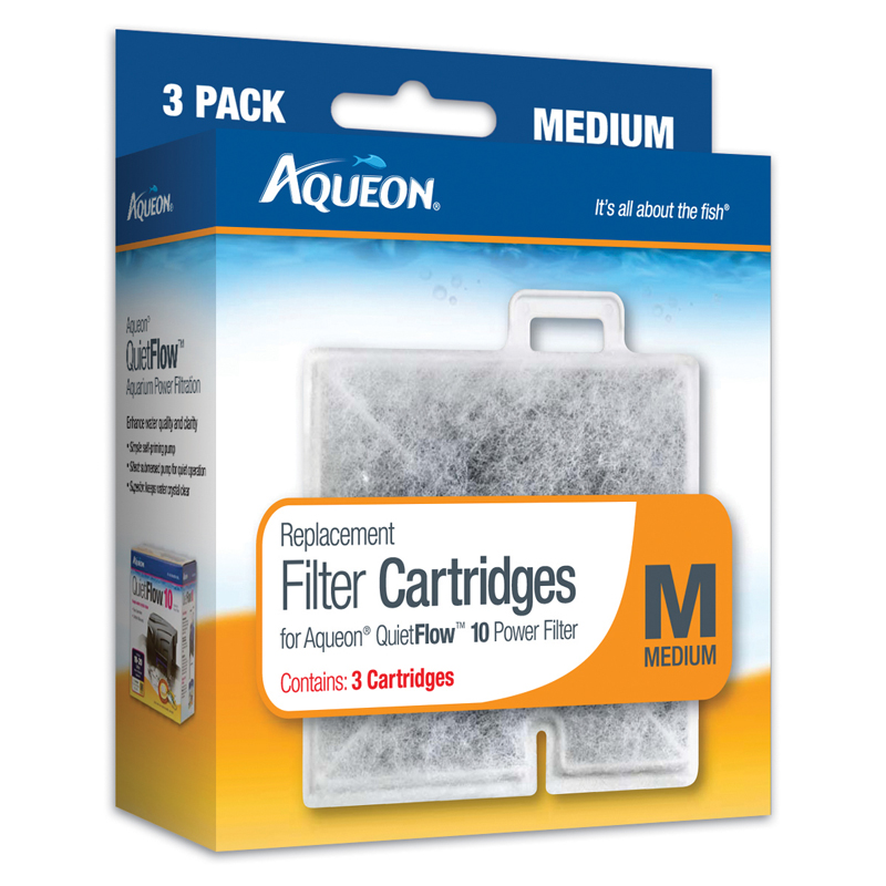 Aqueon® Medium Filter Cartridges 3 Pack Z0159056084