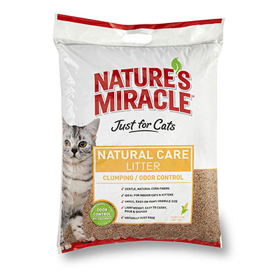 Nature's Miracle® Natural Care Corn Cob Cat Litter 18 lb.  Z01806505318