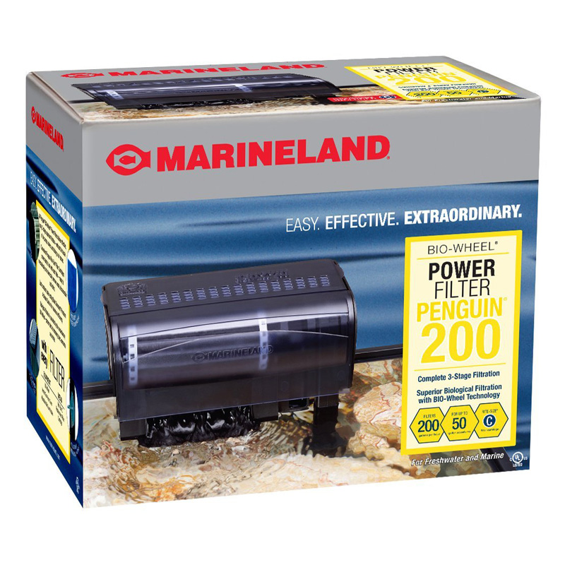 Marineland® Penguin® 200 BIO-Wheel® Power Filter Z04743150362