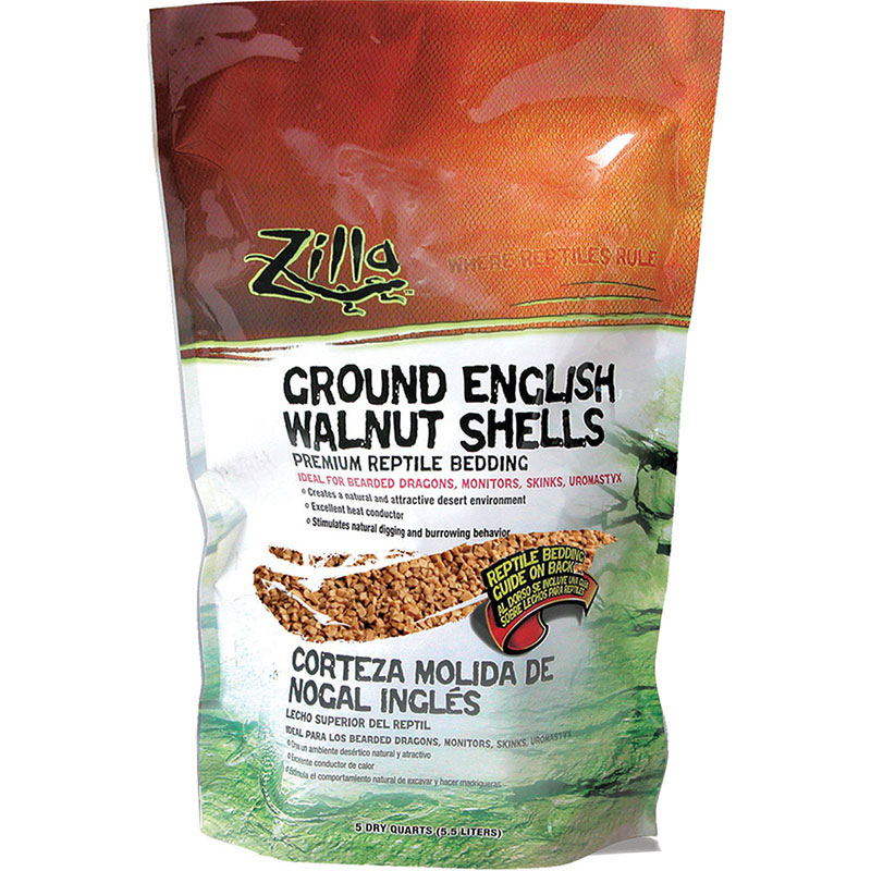 Zilla™ Ground English Walnut Shells 5 Dry Quarts Z09631670045