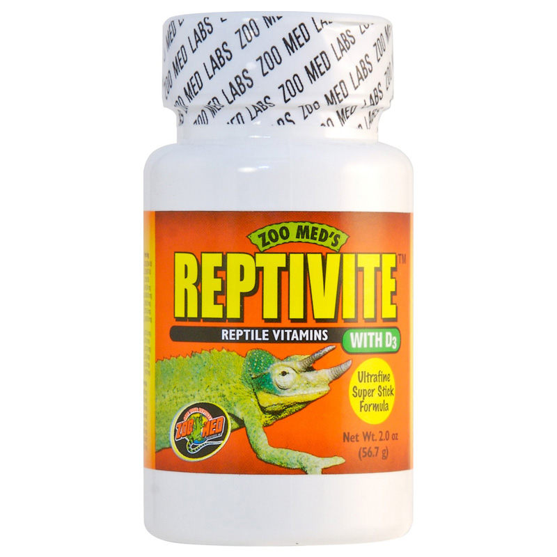 Zoo Med Reptivite Reptile Vitamins with D3 2 oz  Z09761210362
