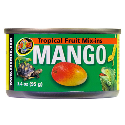 Zoo Med Tropical Fruit Mix-ins Mango 3. 4 Oz.  Z09761240150