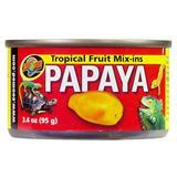 Zoo Med Tropical Fruit Mix-ins Papaya 3.4 Oz.  Z09761240151