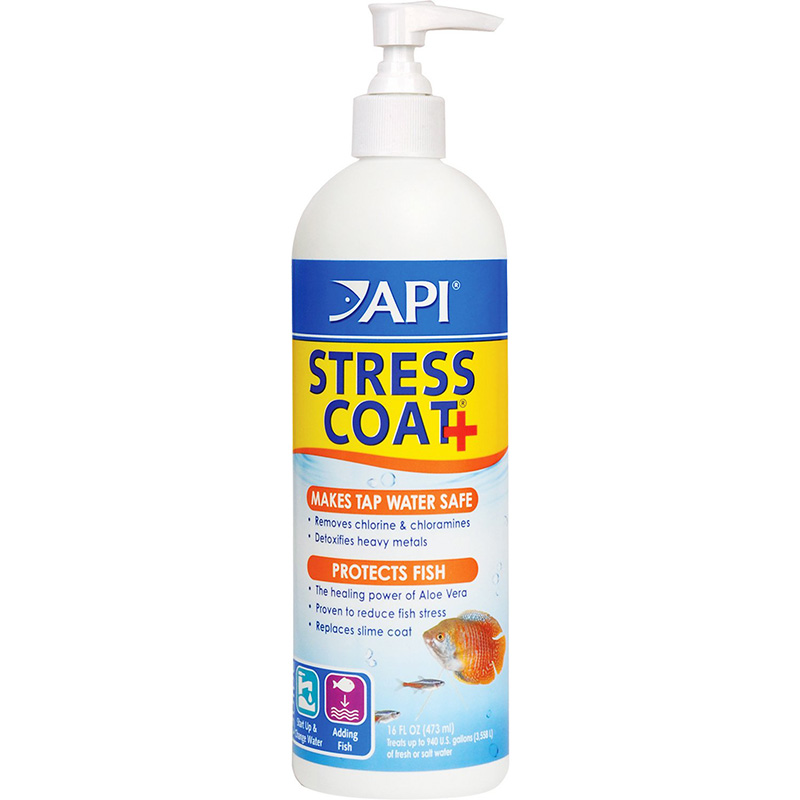 API Stress Coat Pump Bottle 16 oz. Z317163060858