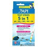 API® 5 in1 Aquarium Test Strips 25 ct. Z31716307033