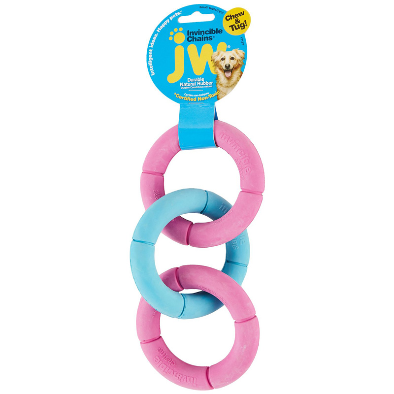 JW Invincible Chains Dog Toy Triple  Z61894043132b
