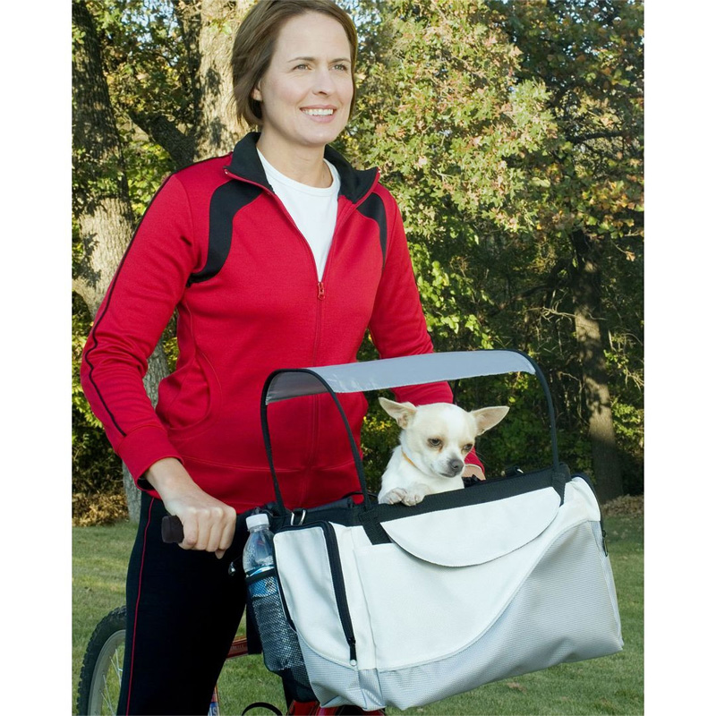 Silver Pet Bicycle Basket/Carrier Tagalong ™