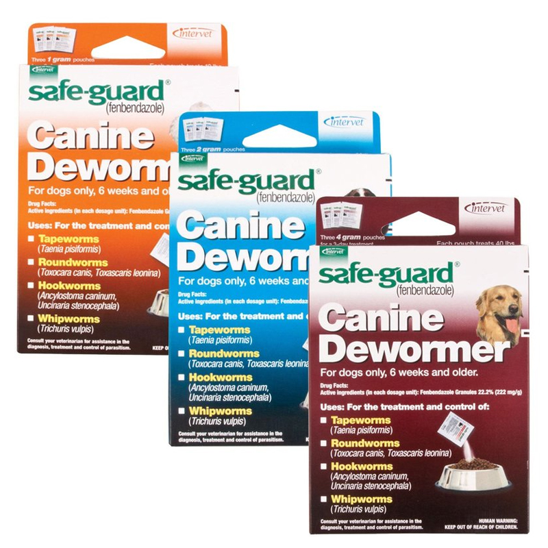 Safe-Guard ® 4-in-1 Canine Dewormer 3451B