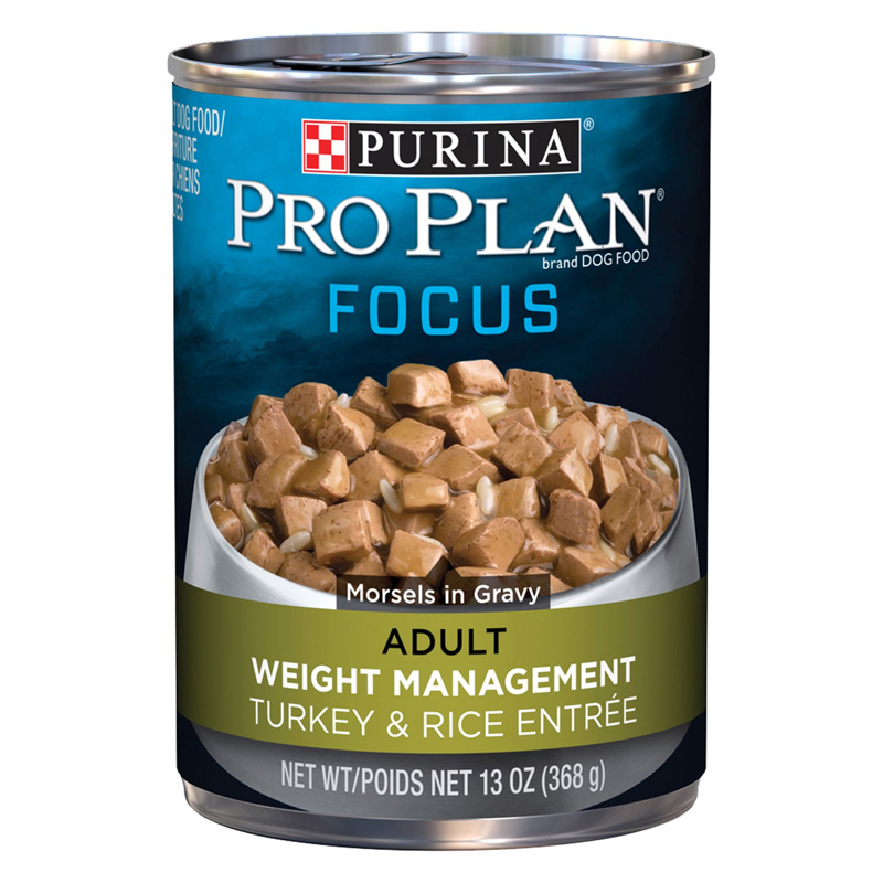 Purina Pro Plan Focus Weight Management Turkey & Rice Entree 92194