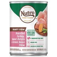 Nutro Hearty Stews Chunky Chicken & Turkey Stew Chunks In Gravy Canned Dog Food 12.5 oz. 92569