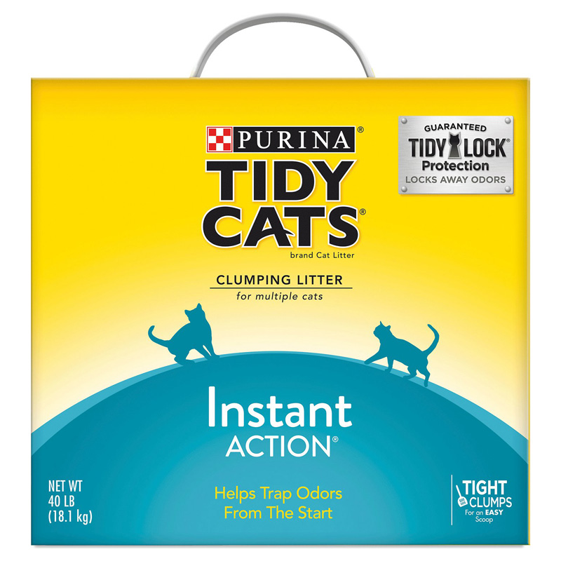 Purina Tidy Cats Instant Action Clumping Cat Litter 40 lb. 99558