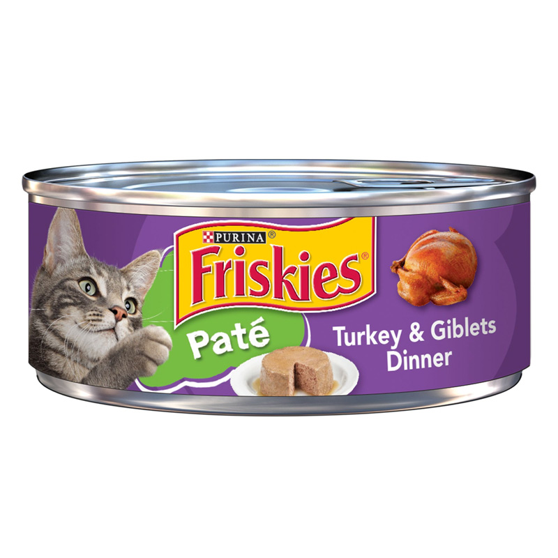 Friskies Turkey and Giblets Pate 99800