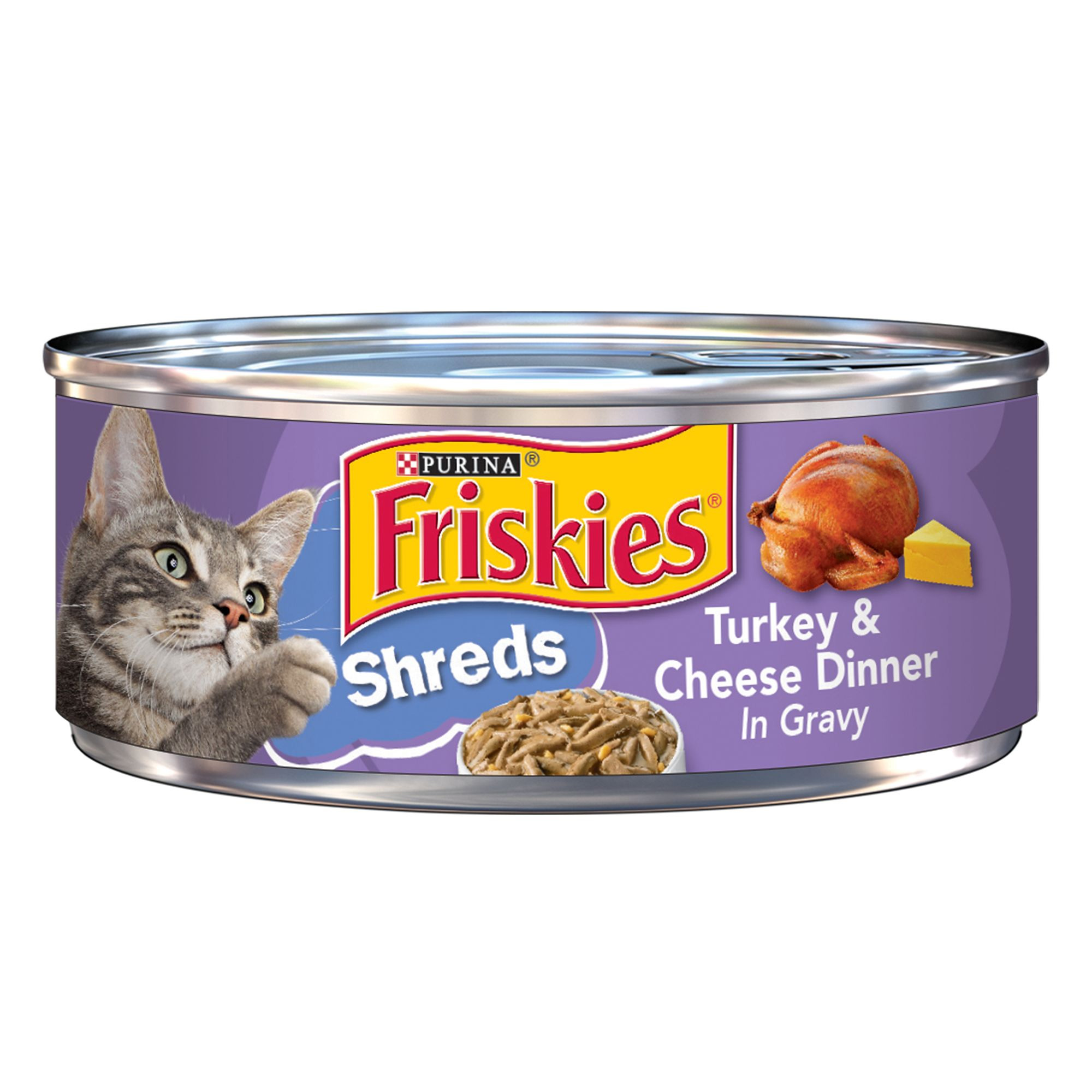 Friskies Turkey and Cheese Dinner Shreds 99805