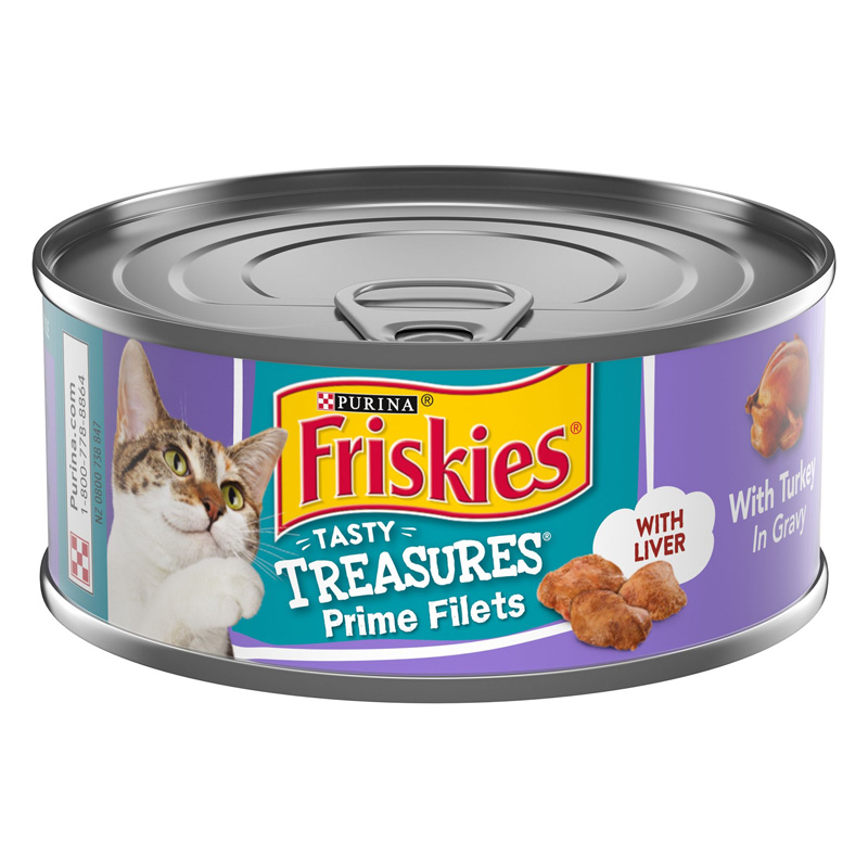 Friskies Tasty Treasures Prime Filets With Turkey and Liver 99884