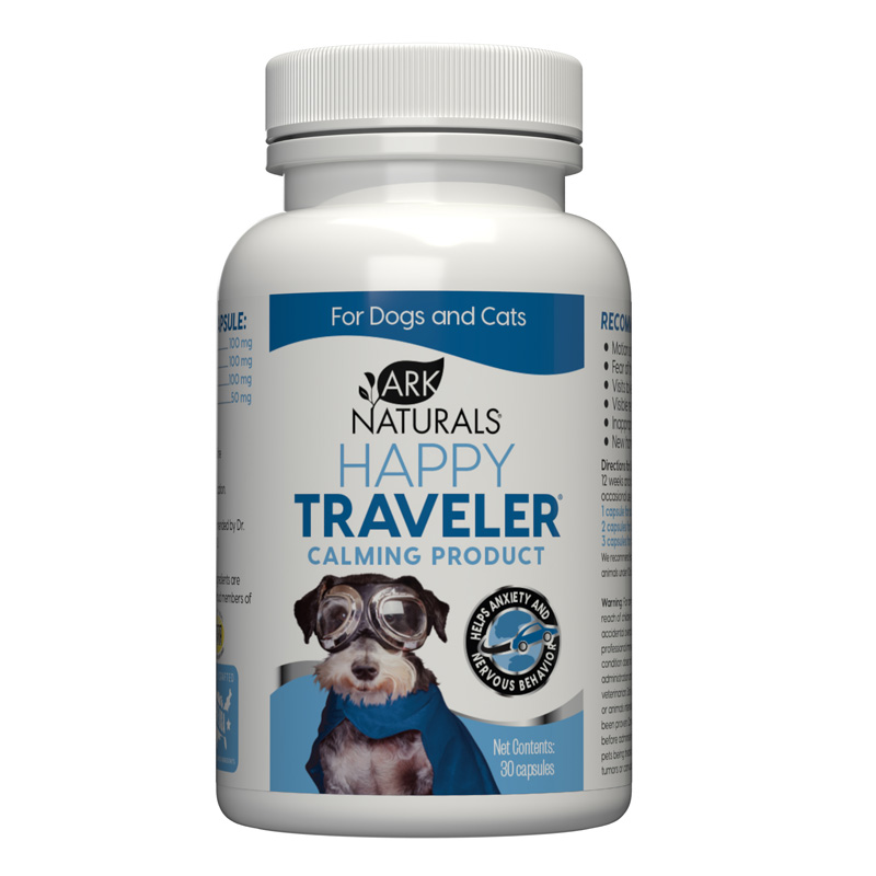 Ark Naturals® Happy Traveler® All Natural Calming Products Capsules 30 ct.  I002384