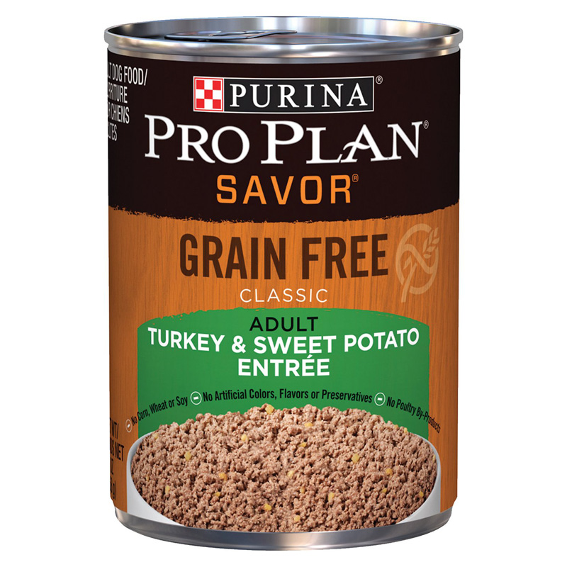 Purina Pro Plan Savor Grain Free Turkey & Sweet Potato Entree I002783
