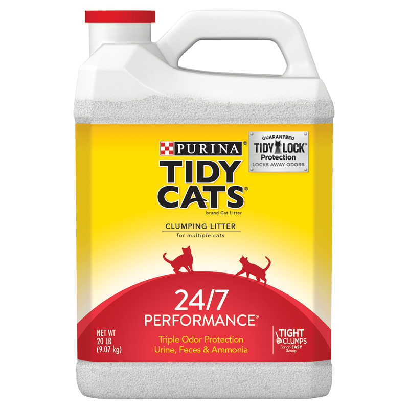 Purina Tidy Cats 24/7 Performance Non-Clumping Cat Litter 20 lb. I006132