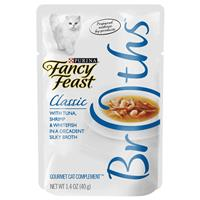 Fancy Feast Complement Tuna, Shrimp, and Whitefish in a Decadent Silky Broth 1.4oz Pouch I007876