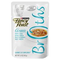 Fancy Feast Complement Tuna and Vegetables in a Decadent Silky Broth 1.4oz Pouch I007877