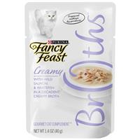 Fancy Feast Complement Tuna, Shrimp, and Whitefish in a Decadent Silky Broth 1.4oz Pouch I007880