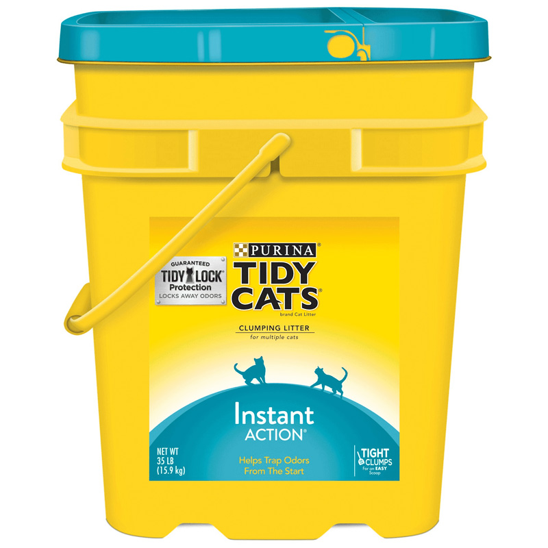 Purina Tidy Cats Instant Action Clumping Cat Litter 35 lb. I009383