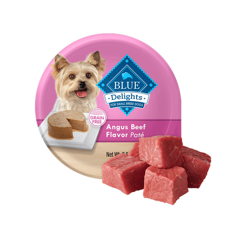 Blue Buffalo Blue Delights Grain-Free Angus Beef Flavor Pate 3.5 oz. I014767