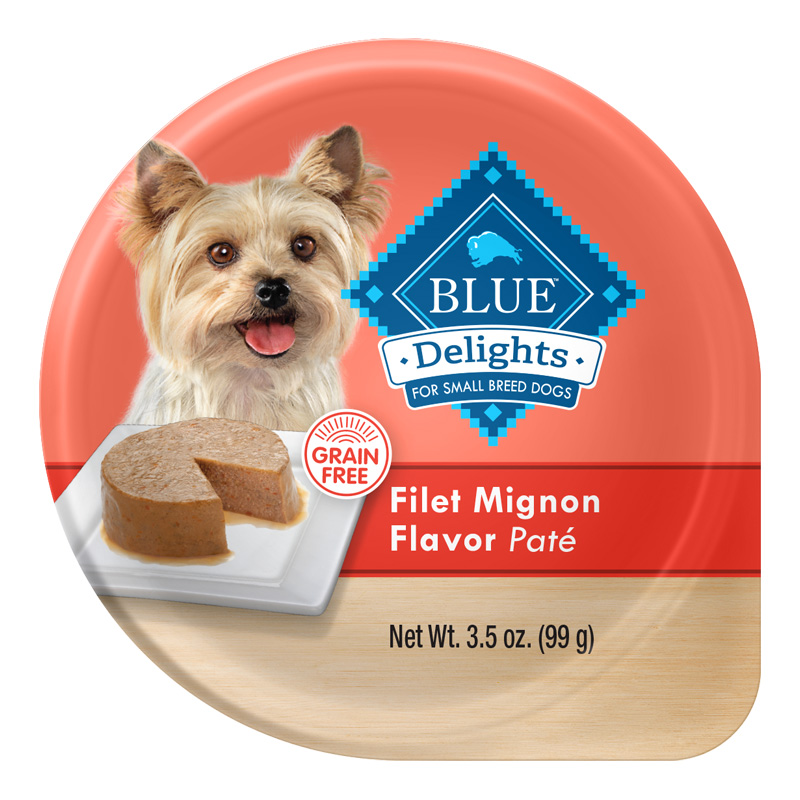 Blue Buffalo Blue Delights Grain-Free Filet Mignon Flavor Pate 3.5 oz. I014788