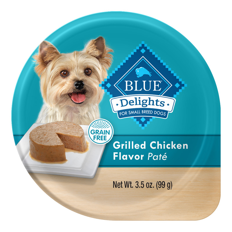 Blue Buffalo Blue Delights Grain-Free Grilled Chicken Flavor Pate 3.5 oz. I014791