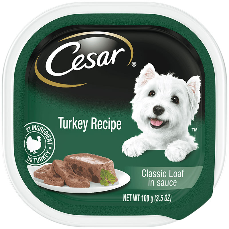 Cesar's Cuisine Turkey Dog Food  I016128