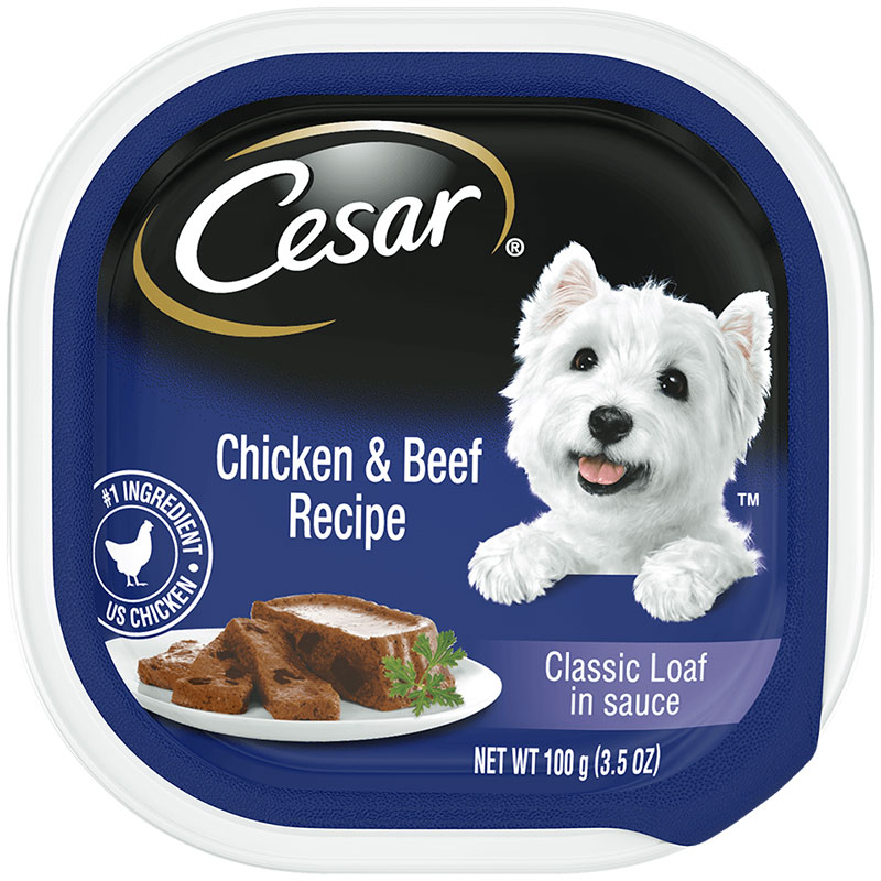 Cesar's Chicken and Beef Food I016135
