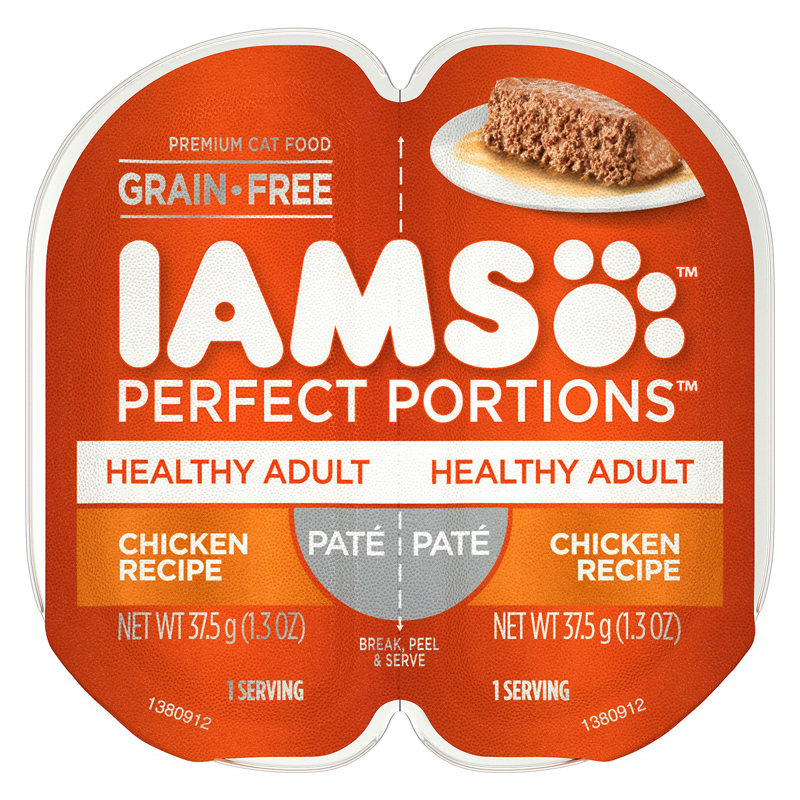 IAMS Perfect Portions Healthy Adult Pate Chicken Recipe I018419