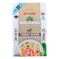 Grandma Lucy's Macanna Turkey Recipe Freeze-Dried Dog Food 3 lbs. I018497