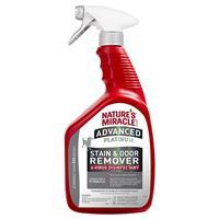 Natures's Miracle Advanced Platinum Stain & Odor Remover & Virus Disinfectant for Dogs I021407b
