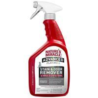 Natures's Miracle Advanced Platinum Stain & Odor Remover & Virus Disinfectant for Cats 32 oz. I021408
