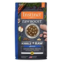 Instinct Raw Boost Grain-Free Recipe with Real Chicken for Senior Dogs I021445b
