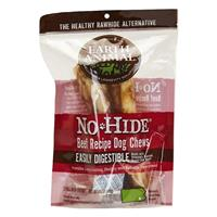 "Earth Animal No-Hide 7"" Beef Recipe Dog Chews 2pk I021450"