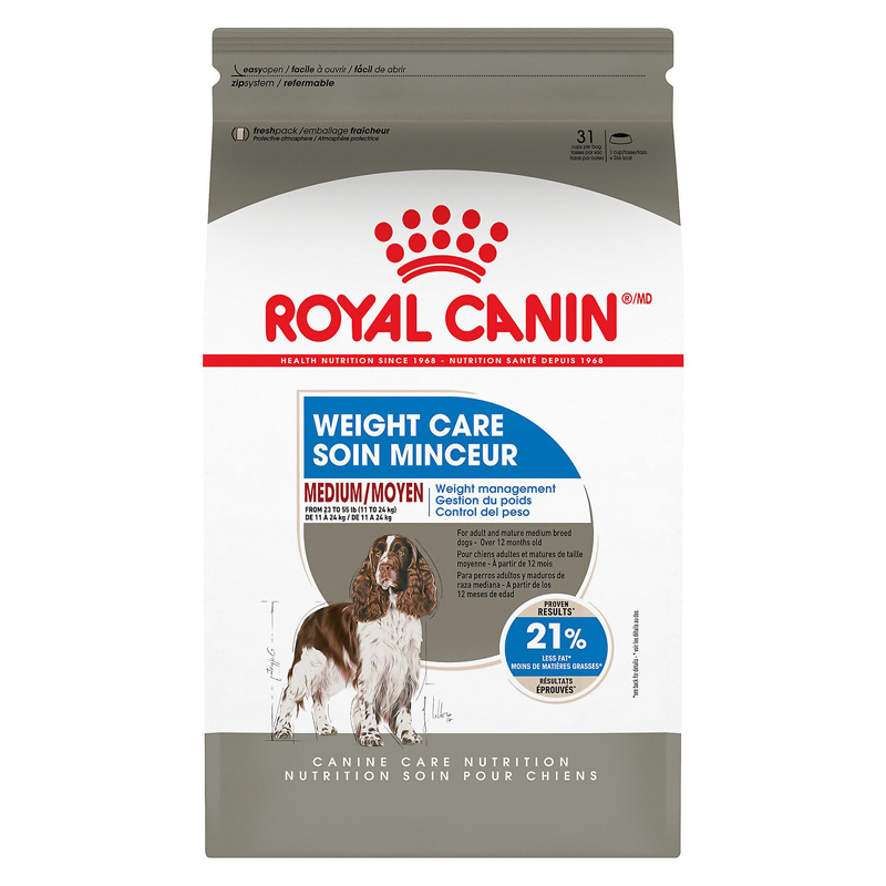 Royal Canin Medium Weight Care Adult Dry Dog Food 17 lbs. I021596