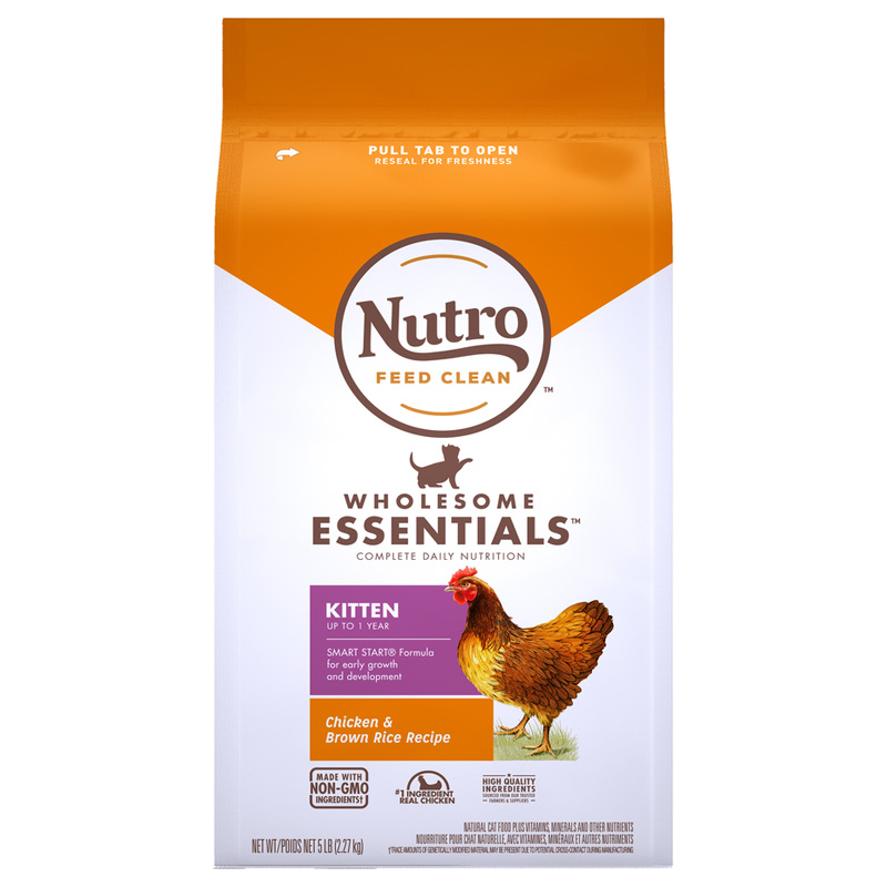Nutro Wholesome Essentials Kitten Farm-Raised Chicken & Brown Rice Recipe I021854