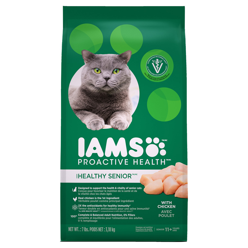 IAMS Proactive Health Senior with Chicken I021878