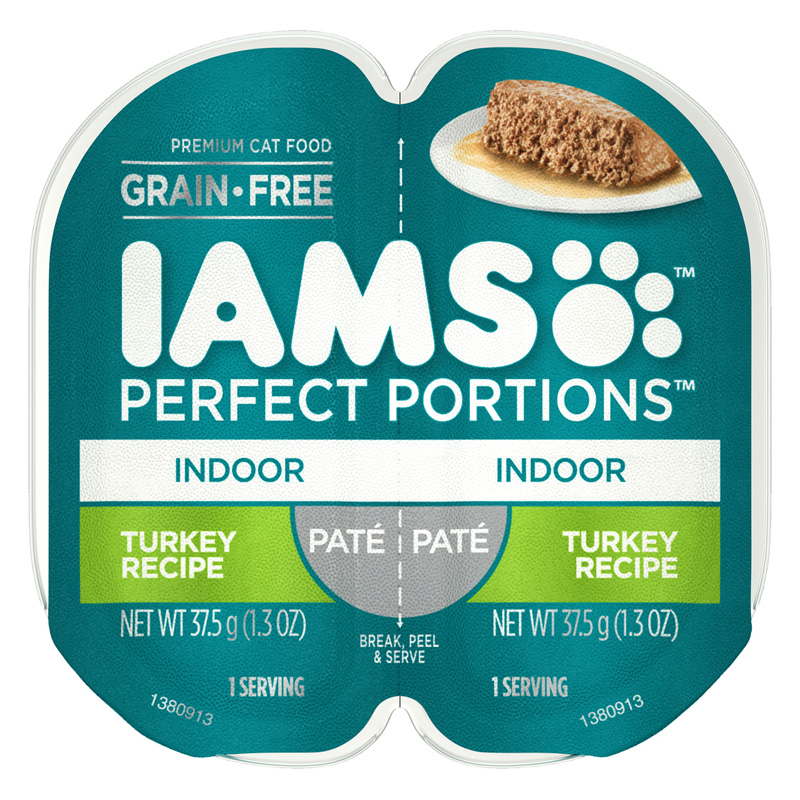 IAMS Perfect Portions Indoor Pate Turkey Recipe I021880