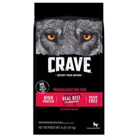 CRAVE Grain-free Beef Adult Dry Dog Food I021916b