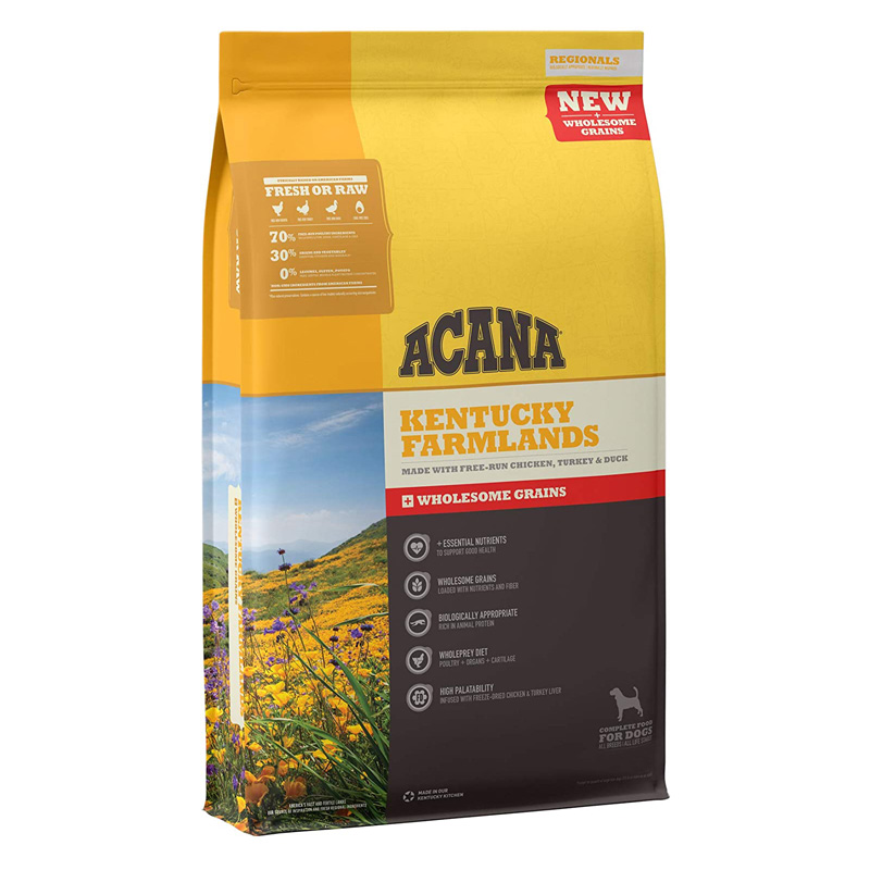 ACANA Kentucky Farmlands with Wholesome Grains Dog Food I021987b