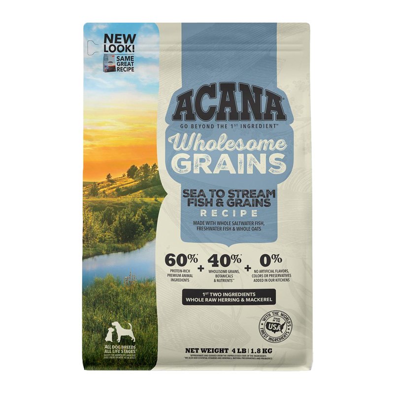 ACANA American Water with Wholesome Grains Dog Food I021990b