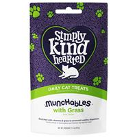 Simply Kind Hearted Munchables with Grass Daily Cat Treats 1.4 oz. I022126