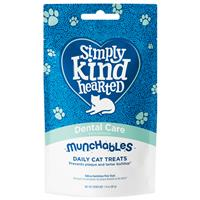 Simply Kind Hearted Dental Care Munchables Daily Cat Treats 1.4 oz. I022131