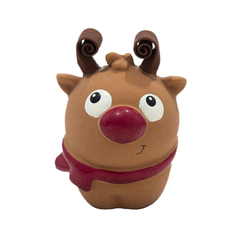 Charming Pet Squish 'Ems Reindeer Holiday Dog Toy I022162
