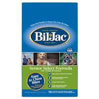 Bil-Jac Senior Select Formula with Chicken & Oatmeal Recipe 30 Lbs. I022493