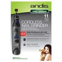 Andis 6 Speed Cordless Nail Grinder Kit I022503