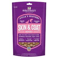 Stella & Chewy's Stella's Solution Skin & Coat Boost Cage-Free Duck & Wild-Caught Salmon Dinner Morsels for Cats 7.5 oz. I022578